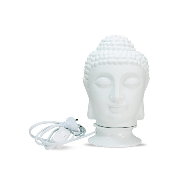Electric Vaporizer Buddha Head L&F White