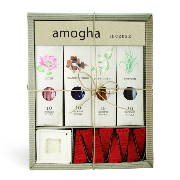 Iris Amogha Incense Sticks Set Box Front