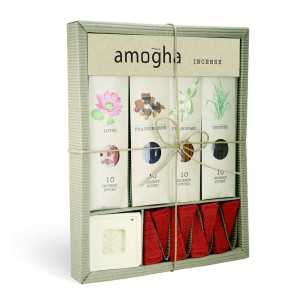 Iris Amogha Incense Sticks Set Box Side