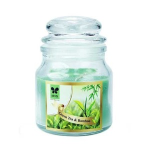 Iris Aroma Jar Candles Green Tea & Bamboo