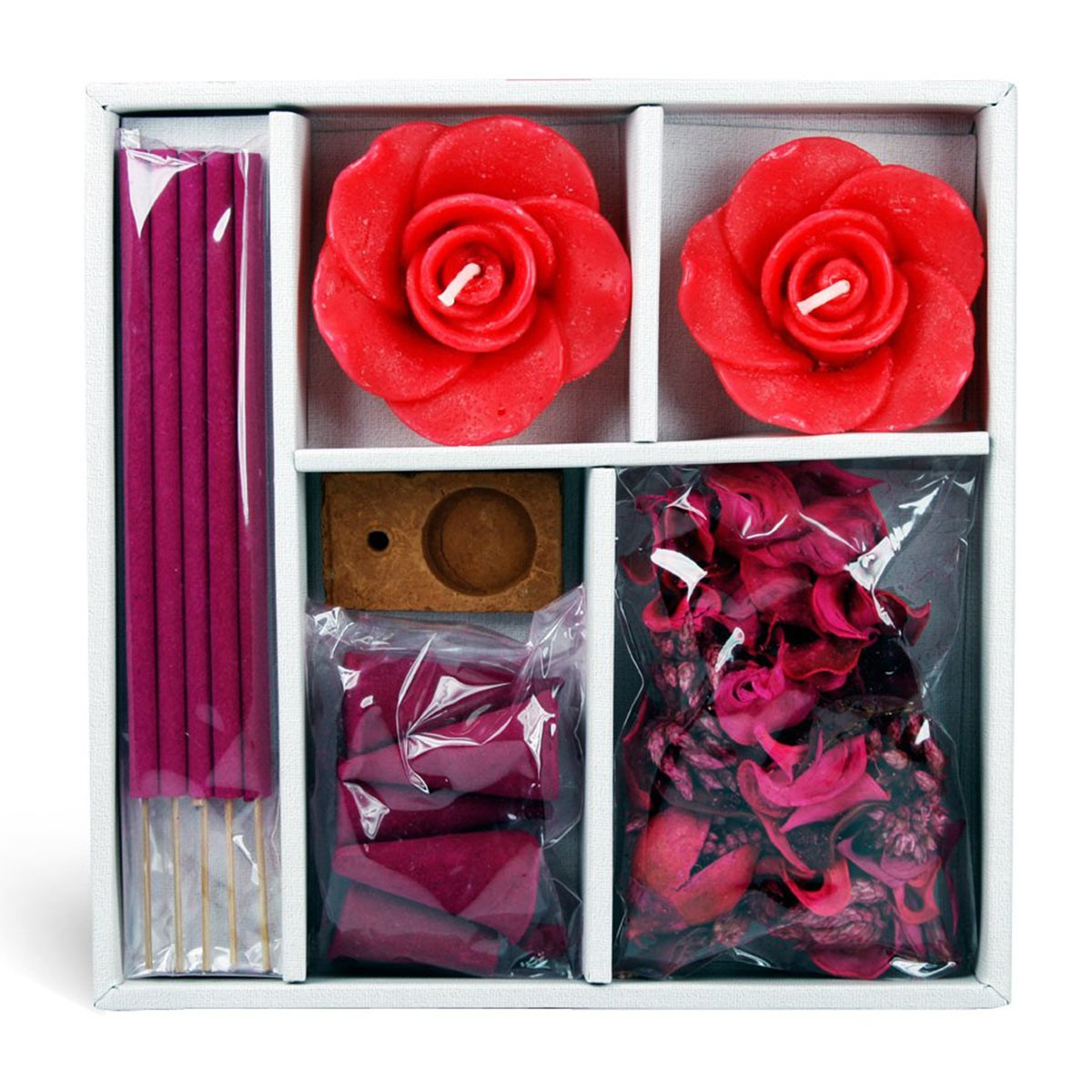 Iris Rose Candle & Potpourri Fragrance Gift Set
