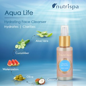 Nutrispa Aque Life Hydrating Face Cleanser ingredients