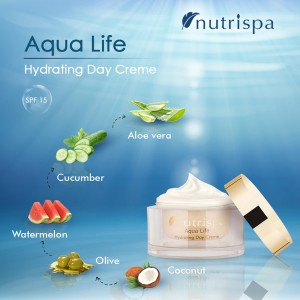 Nutrispa Aque Life Hydrating Day Cream SPF-15 ingredients