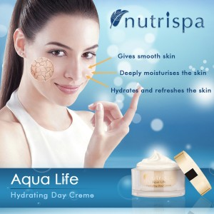 Nutrispa Aque Life Hydrating Day Cream SPF-15