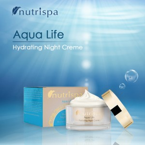 Nutrispa Aque Life Hydrating Night Cream SPF-15