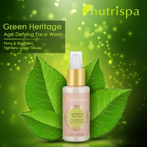 Nutrispa Green Heritage Age Defying Face Wash