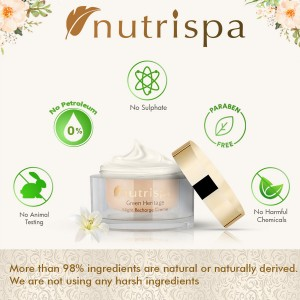 Nutrispa Green Heritage Night Recharge Cream