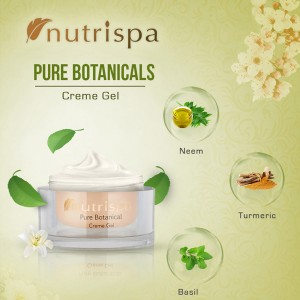Nutrispa Pure Botanicals Oil Control Crème Gel ingredients