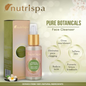 Nutrispa Pure Botanicals Mattifying Face Cleanser