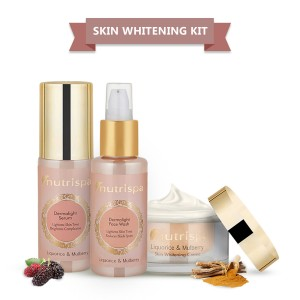 Nutrispa Liquorice and Mulberry - Skin Lightening Fairness Kit