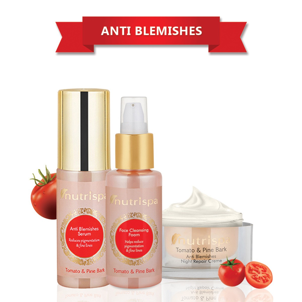 Nutrispa Tomato And Pine Bark - Anti Blemish Skin Care kit