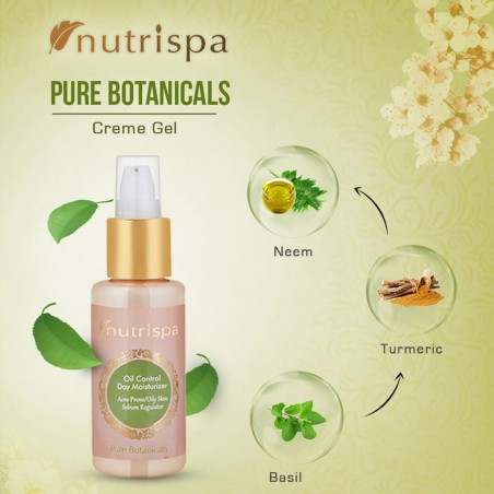 Nutrispa Pure Botanicals Oil Control Day Moisturizer ingredients
