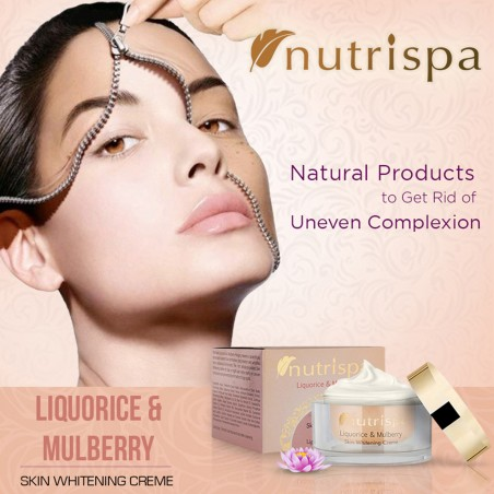 Nutrispa Liquorice and Mulberry Skin Whitening Cream
