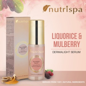 Nutrispa Liquorice and Mulberry  Derma Light Serum