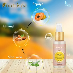 Nutrispa Sun Excel Skin Guard Lotion (SPF 50) ingredients