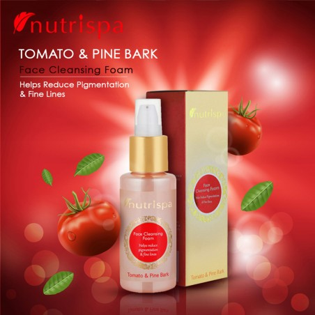 Nutrispa Tomato And Pine Bark Face Cleansing Foam