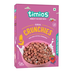 Timios Crunchies Breakfast Cereals Box- Pack of 2