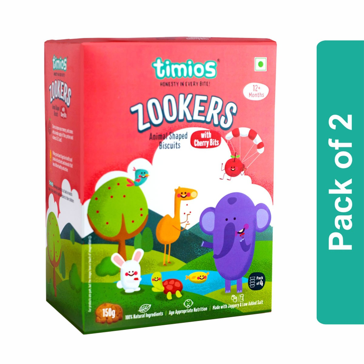Timios Zookers (Cherry Bits)
