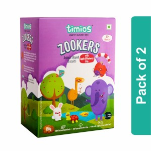 Timios Zookers (Apple & Blueberry)- Pack of 2