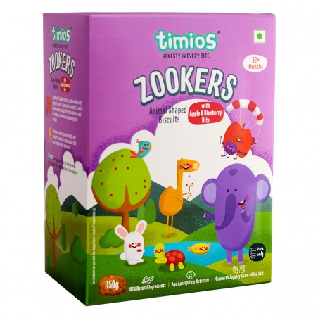 Timios Zookers (Apple & Blueberry)