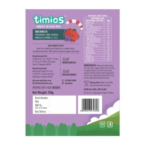 Timios Zookers (Apple & Blueberry) back side