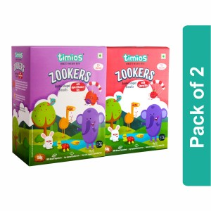 Timios Zookers Mix Flavours