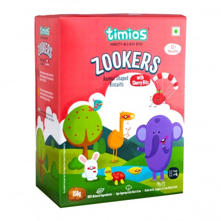 Timios Zookers Mix Flavours (Cherry Bits)