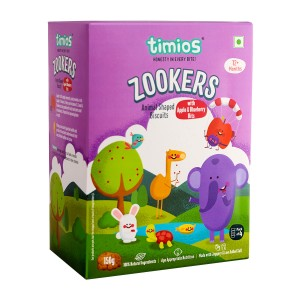 Timios Zookers Mix Flavours (Apple & Blueberry)