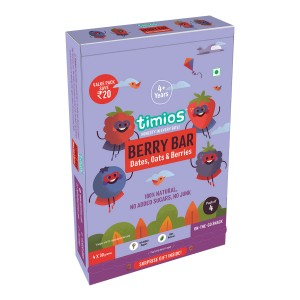 Timios Energy Bar Mix Flavours(Berry Bar)