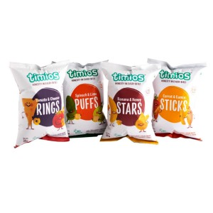 Timios Snack Mix Flavours (Rings, Puffs, Stars & Sticks)