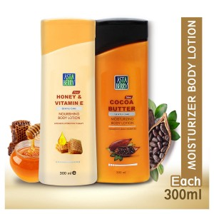 Astaberry Body Lotion Honey Vitamin E & Cocoa Butter