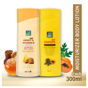 Astaberry Body Lotion Honey Vitamin E & Papaya