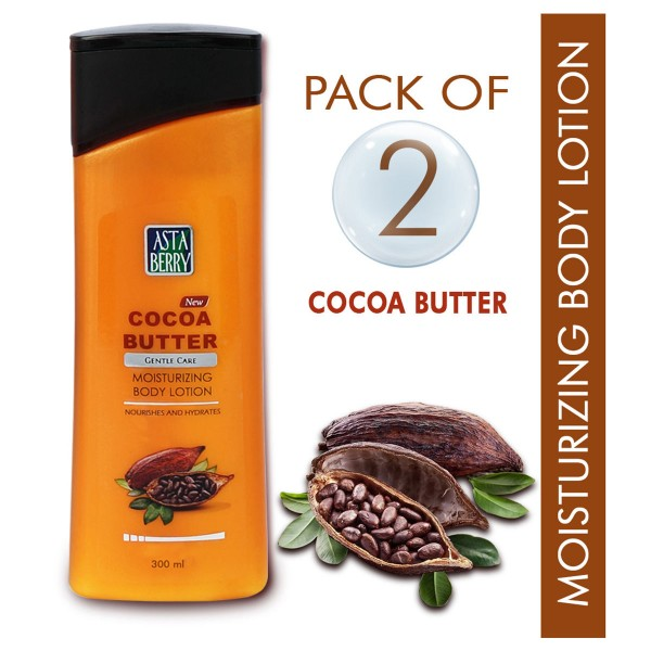 Astaberry Body Lotion Cocoa Butter 300ml