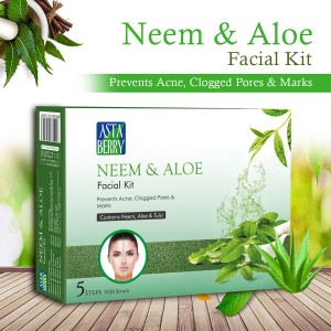 Astaberry Neem & Aloe Facial kit Medium