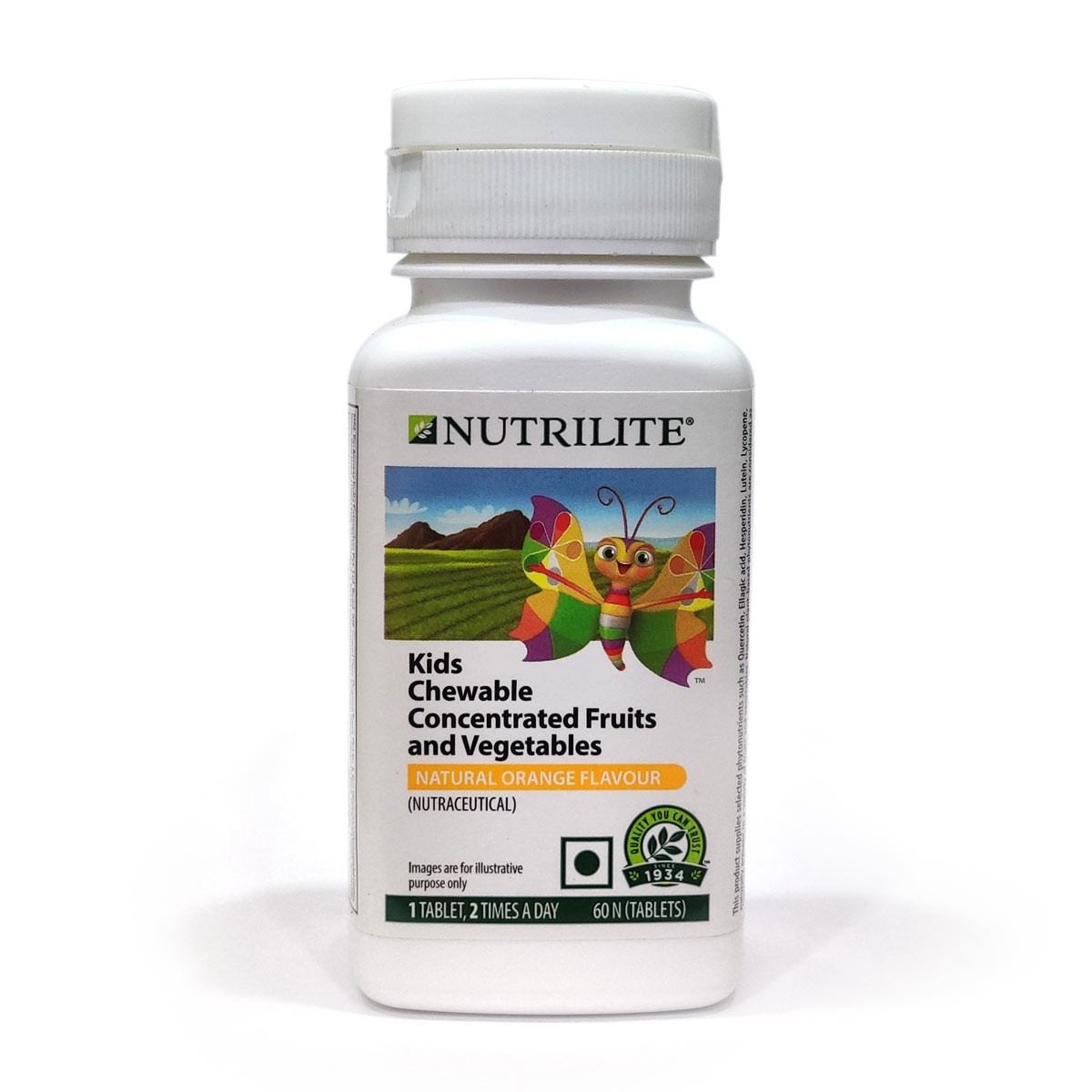 Amway Nutrilite Kids Chewable Concentrated Fruits and Vegetables
