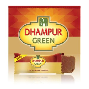 Dhampur Green Jaggery 220 gm  ( Pack Of 4 )