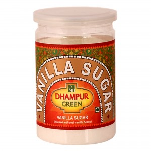 Dhampur green Vanilla Sugar 325 Gm