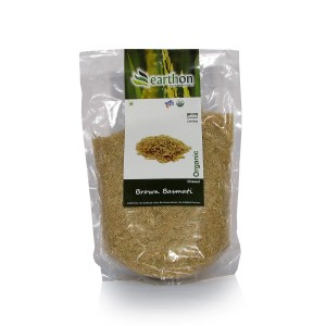 Earthon Basmati Rice Brown 1kg