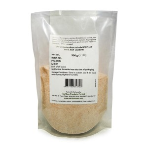 Earthon Semolina - Brown 500gm