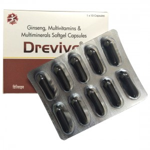 Drevive®Softgel Multivitamins Capsules