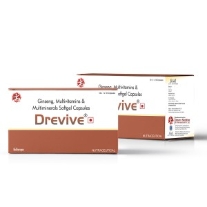 Drevive® Softgel Multivitamins Capsules
