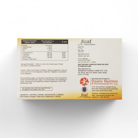 AgeDeifier™ Co-Enzyme Q10 Capsules