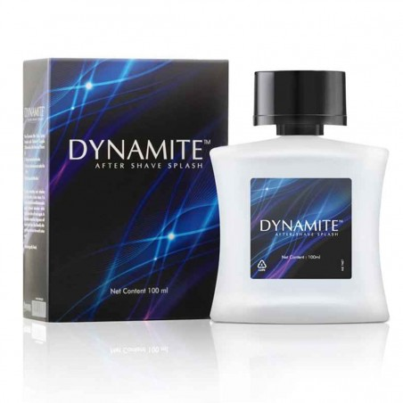 Amway Dynamite After Shave Splash with box