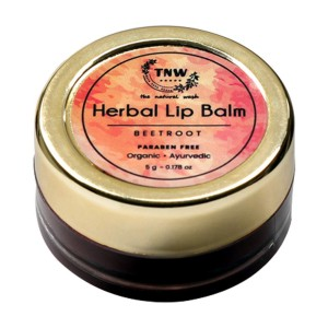 TNW - The Natural Wash BEETROOT LIP BALM (Pack of: 1, 5 g)