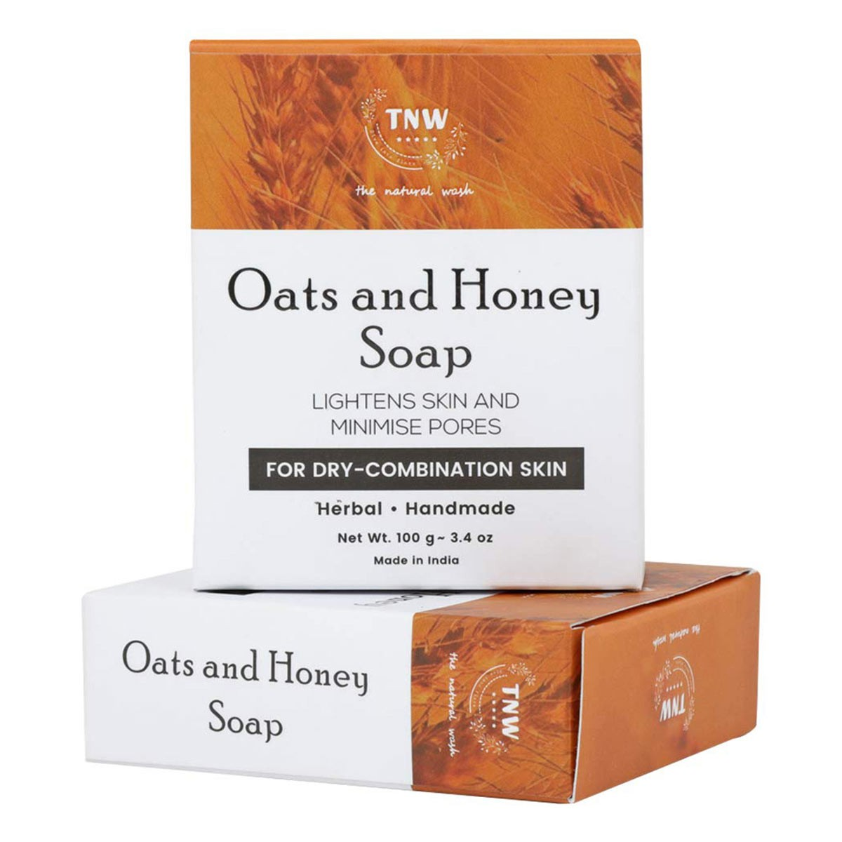 TNW - The Natural Wash OATS AND HONEY SOAP (100 g)
