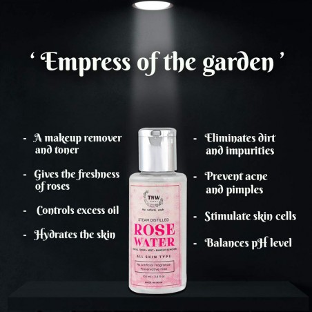 TNW - The Natural Wash ROSE WATER info