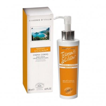 Bottega Di Lungavita Siciliani Sunset Fresh & Lively Body Cream