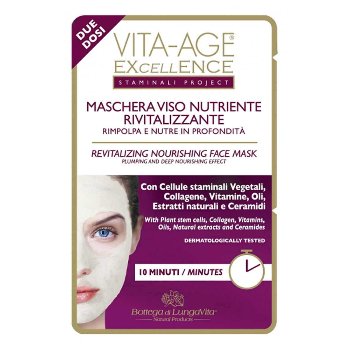 Bottega Di Lungavita Excellence Revitalizing Nourishing Face Mask
