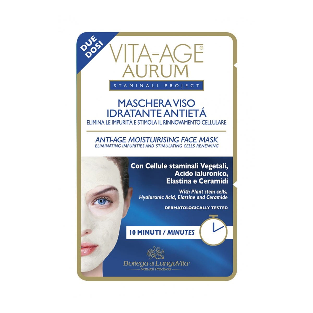 Bottega Di Lungavita Vita-Age Aurum Anti-Age Moisturizing Face Mask