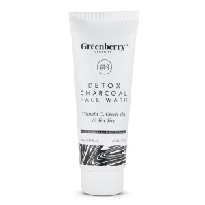 Greenberry Organics Detox Charcoal Face Wash